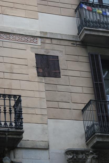La ventana misteriosa